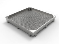 Meshed Access Cover