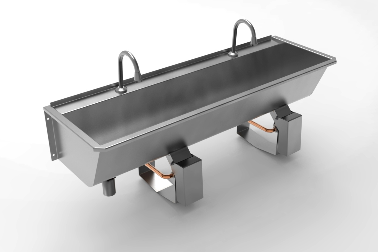 Knee Push Sinks Paragon Stainless Products