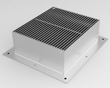 PLA-350 Hinged Square Grate and Frame