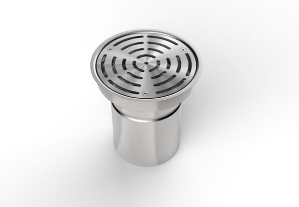 Rg 160 Round Floor Gully Paragon Stainless Products