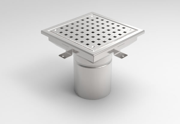 SG-200 Square Floor Gully