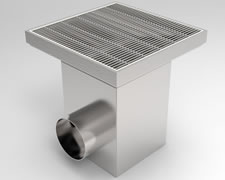 SG-300 Square Floor Gully